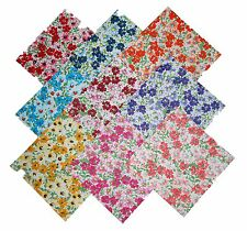 "9 10"" Quilting Fabric Layer Cake Squares  Flower Patch!! NEW ITEM"
