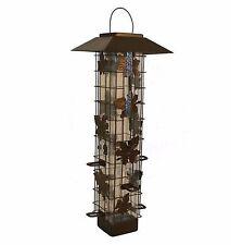 New Squirrel-Be-Gone Proof Bird Seed Feeder Hanging Perky Pet Garden Outdoor 336