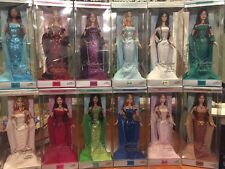 2002 Birthstone Collection Barbie Lot