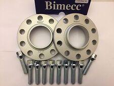 17mm BIMECC Plata hub espaciadores centrados en + 10 x Pernos 45mm cabe Volvo M14X1.5 63.4