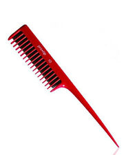 Back Combing Hair Comb Red Professional Pro Tip No10
