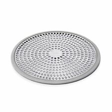 OXO GOOD GRIPS SHOWER STALL DRAIN PROTECTOR Silicone Stainless Steel hair catch