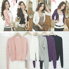 Womens Casual Knitted Cardigan Sweater Long Sleeve Coat Jacket Outwear Knitwear