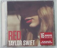 Red by Taylor Swift (CD, Oct-2012, Big Machine Records)-NEW
