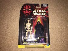 99 Star Wars RARE EPIS 1 DARTH MAUL NO/BLADE & BATTLE DROID 2 PACK MULTILINGUAL