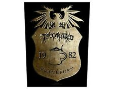 TANKARD crest frankfurt GIANT BACK PATCH - 36 x 29