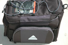 Axiom Cortez DLX Trunk Bag Rear Rack Back Bike Bicycle Black Blue Gray Holder