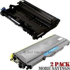 2/PK Premium Toner & Drum Cartridge Compatible for Brother TN-360 & DR-360