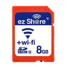 Ez Share Wifi SD-Speicherkarte 8 GB Klasse 10  2. Generation DE