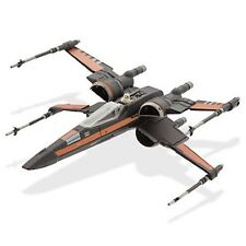 Star Wars Force Awakens Die Cast Poe Dameron X-Wing Model Disney Store BNIB