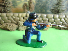 Armies in plastic American civil war Union iron brigade kneeling firing 1:32