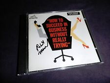 How to Succeed in Business CD soundtrack signed Robert Morse star Broadway show