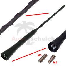 Antenne Stabantenne kurz M5 M6 Antennenstab Dachantenne für VW Audi Skoda BMW