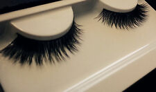 100% Real Natural MINK 3D Celebrity Lilly Thick Flutter Lashes Reduce Sale MJ UK