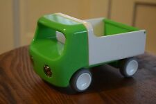 Kid O Toy Tip Truck Green Plastic with Lifting Bed and Tailgate