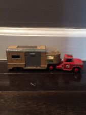 Matchbox King Size  Dodge Tractor  & Articulated Horse Van Ascot Stables Lesney