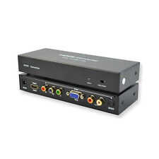 HDMI to RGB Component YPbPr + VGA Converter Supports up to UXGA and 1080P