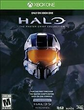 Halo Master Chief Collection 1 2 3 4 Game for the XBOX ONE SEALED NEW 5 OUT 5!