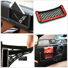 Car Tidy Mesh Bag String Storage Net Pocket Phone Holder Organizer Universal