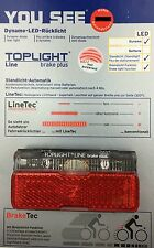 B&M Toplight Line Brake Plus LED taillight 2in Bolzenabstand