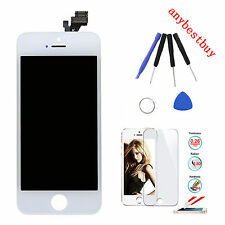 For iPhone 5 White LCD Display Panel +Touch Screen Digitizer + Frame Tools