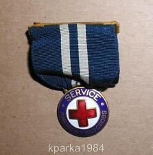 WW1 AMERICAN RED CROSS WAR SERVICE MEDAL - EIGHTEEN MONTHS SERVICE