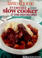 Taste of Home Everyday Slow Cooker & One Dish Recipes 2012 new hardcover