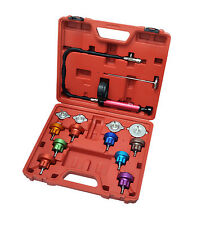 14PC Radiator Auto Car Cooling System Pressure Tester Kit Color Pump Gauge A4006