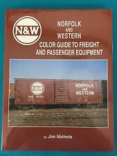 046 Norfolk & Western Color Guide Freight & Passenger Equip Morning Sun Book NEW