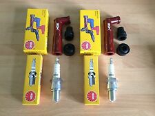 HONDA CB250 N CB400 N SUPER DREAM CB450 CM250 NGK SPARK PLUGS & CAPS FREE POST!