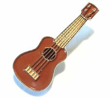 Ukulele Hawaiian Lute Musical Instrument Metal Enamel Pin Badge New