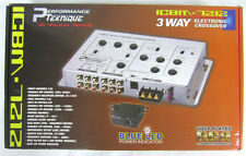 Brand New Performance Teknique ICBM-7212 3-Way Electronic Crossover Car Audio