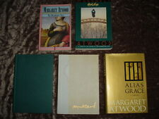 Margaret Atwood Books: The Handmaid's Tale, Cat's Eye, Alias Grace MORE Lot of 5