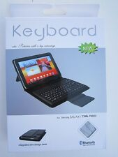 Bluetooth Keyboard Leather Case/Stand for Samsung Galaxy Tab Tablet P6800 7.7""