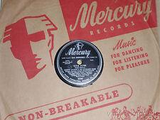 """MUGGSY SPANIER Dixie Flyer/ Lazy Piano Man 10"""" vinyl 78 Mercury 5424"""
