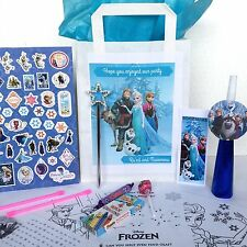 •Pre-filled & Personalised Disney Frozen Anna Loot Party Favour Bags brand new