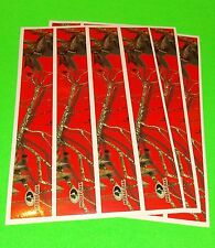 Mossy Oak Arrow Wraps Blaze Red Camouflage Pkg/12