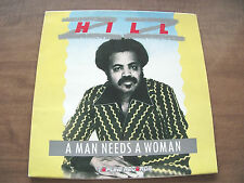 Lp-Z Z HILL-A Man Needs A Woman-1985-Blues at the Opera