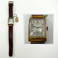 ALSINAL Vintage SWISS WRISTWATCH 15j Watch ART DECO Joseph H Shaw Movement
