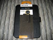 Belkin Verve Tab Folio Cover, Case - Fit Kindle Paperwhite, Kindle 4, 5 - Black