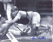 Tom Nieto Montreal Expos Autographed Signed 8x10 Photo COA St Louis Cardinals