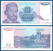 JUGOSLAWIEN / YUGOSLAVIA 50.000 Dinara 1993 UNC  P.130