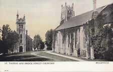 St. Thomas & Bridge Street Churches BELLEVILLE Ontario Canada 190-15 Warwick PC