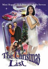 The Christmas List TV Movie 1997 DVD Mimi Rogers, Rob Stewart *Ships from USA*