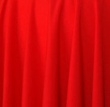 TISSU MAILLE JERSEY ROUGE POLYESTER ELASTHANNE Stretch et Fluide au METRE