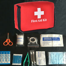 Earthquake Camping Survival Medical Mini Red Bag Travel Emergency First Aid Kit