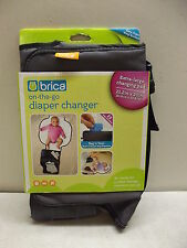 BRICA ON THE GO DIAPER CHANGING PAD DIAPER CHANGER EXTRA LARGE NEW