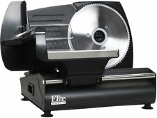 MaxiMatic EMT-503B Elite Gourmet 130-Watt Die-Cast-Aluminum Electric Food Slicer