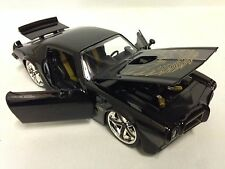 1972 Pontiac Firebird Trans AM, Collectible, Diecast 1:24 Scale, Jada Toy, Black