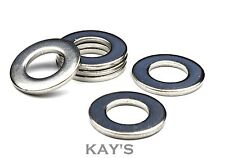 M4, M5, M6, M8, M10 Stainless Steel Flat Washers x 300